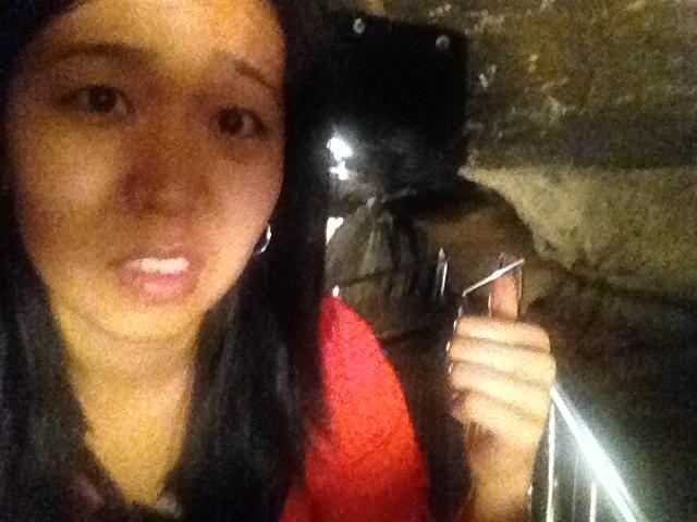 Gosu Cave walkway